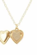 Kris Nations Heart Locket Gold