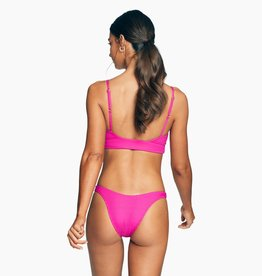 Vitamin A California High Leg Bottom Magenta EcoRib
