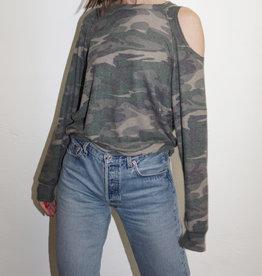 LNA Clothing Brushed Camo Flynn Long Sleeve