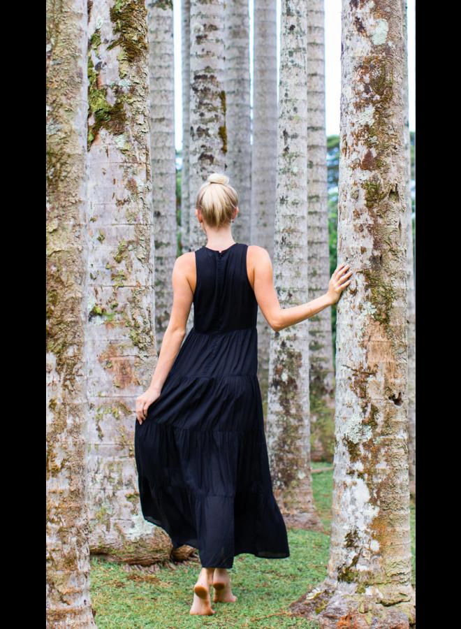 Pompeii Tiered Maxi Dress