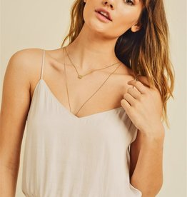 Reset by Jane Silky White Crop Cami