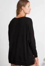 Carrie Pullover Black
