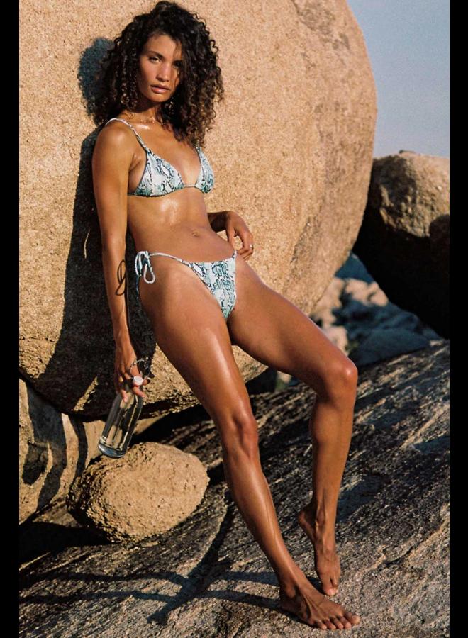 Tori Teeni Bikini Top Ice Blue