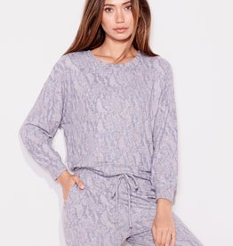 Sundry Abstract Snake Sweater