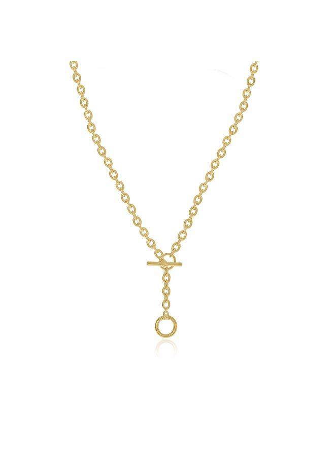 Toggle Drop Necklace