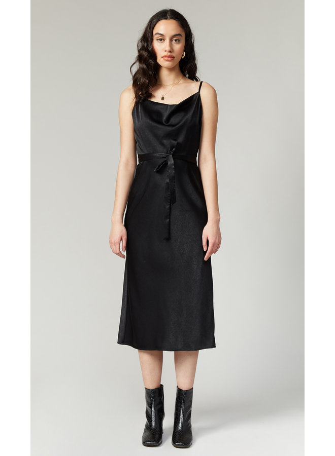 Keva Cowl Neck Slip Dress