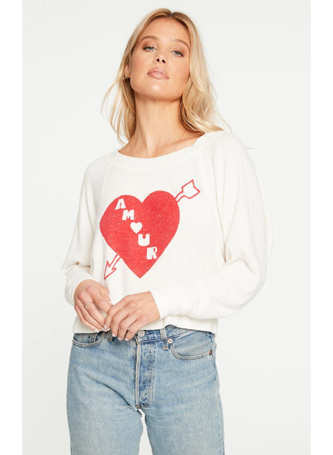 Amour Cropped Long Sleeve