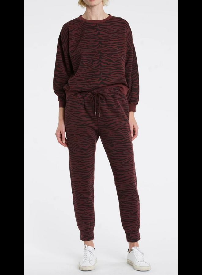 Misha Sweatshirt Black Cherry