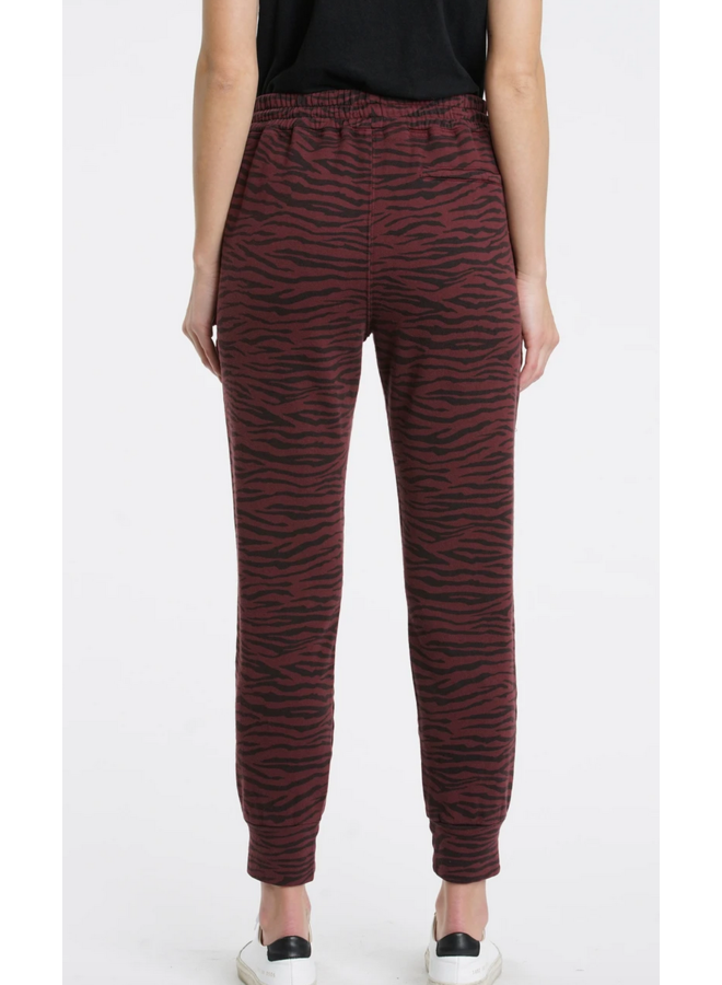 Alessa Sweatpant Black Cherry