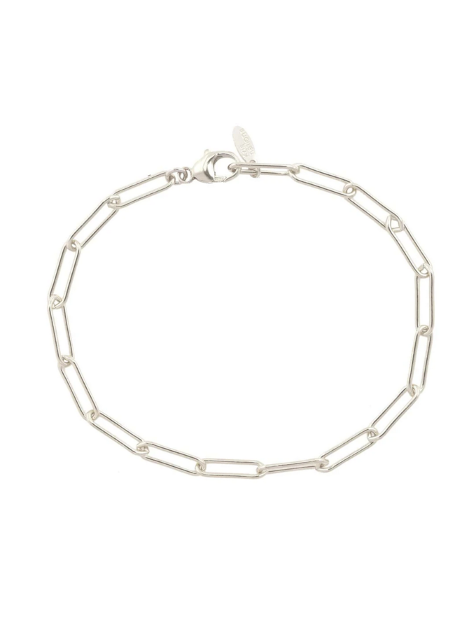 Thick Paperclip Chain Bracelet