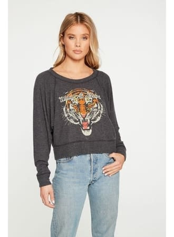 Wild at Heart Cropped Long Sleeve