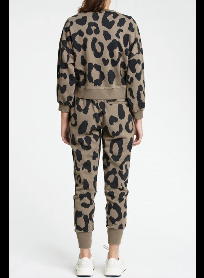 Misha Sweatshirt Safari Leopard