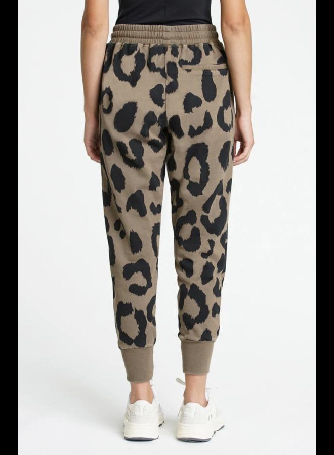 Alessa Sweatpant Safari Leopard
