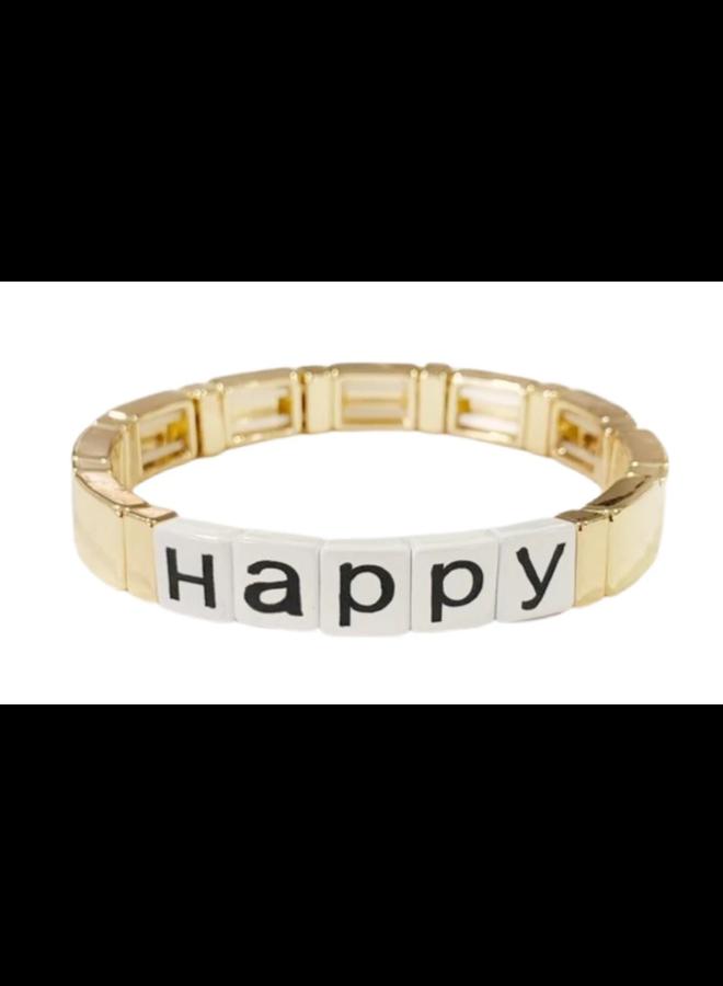 Happy Tile Bracelet