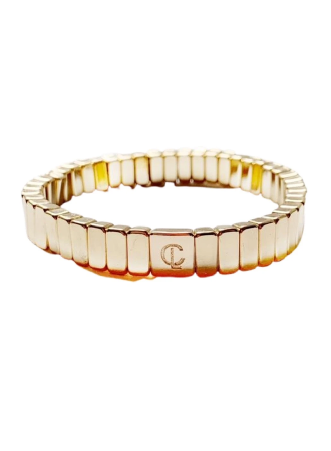Tile Bracelet Gold Mini
