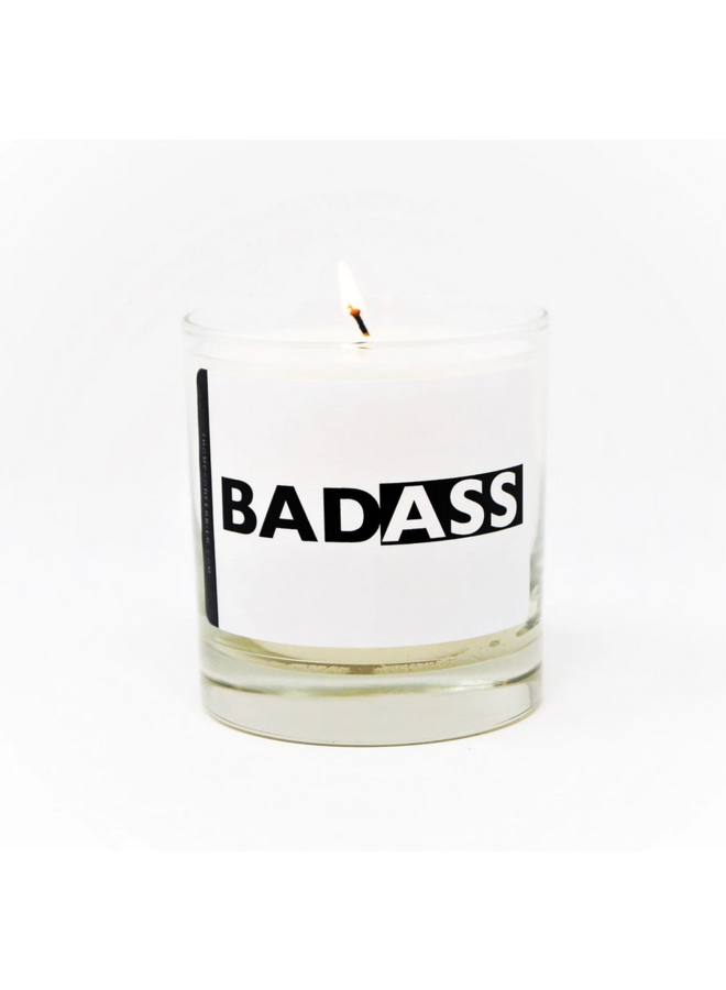 Bad Ass Candle Cassis Pomegrante