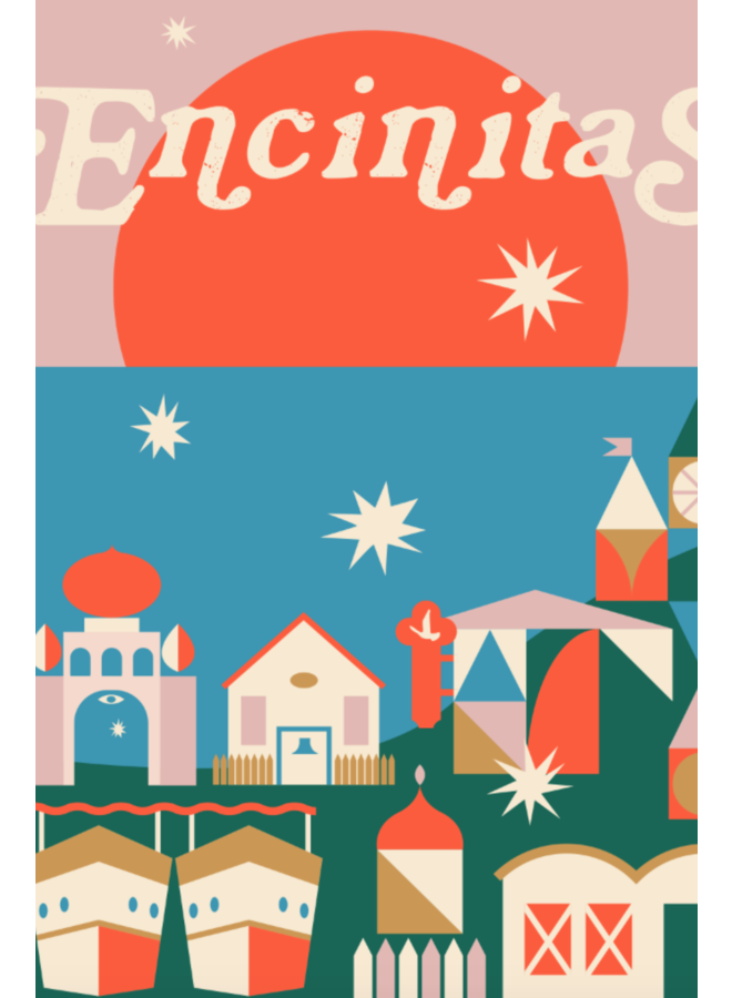 Encinitas Print