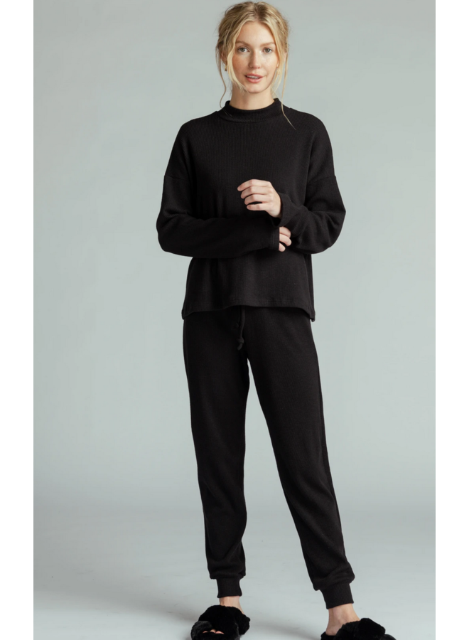 Alice Sweater Kit Jogger Black