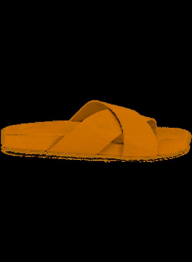 Lighthearted Leather Slide