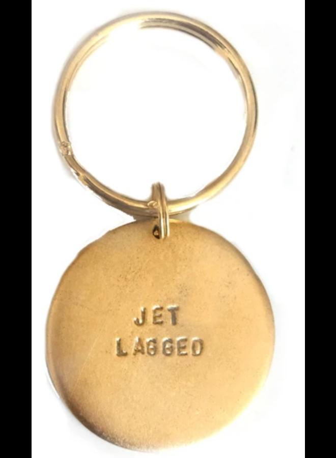 Key Ring Jet Lagged
