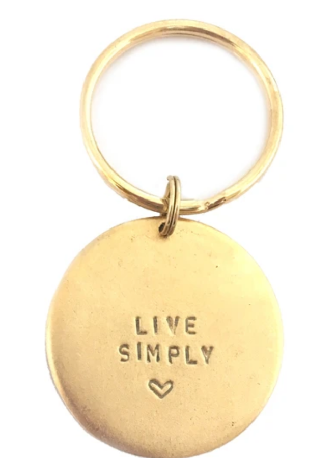 Key Ring Live Simply