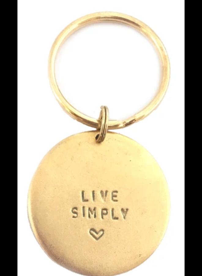 Key Ring Live Simply