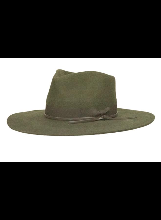 Byron Bay Hat Olive