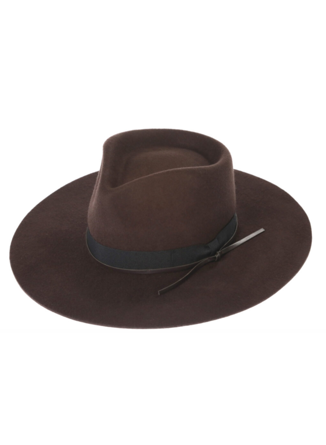 Byron Bay Hat Dark Brown