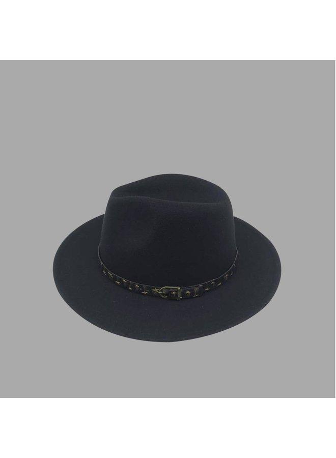 Quinn Hat Black