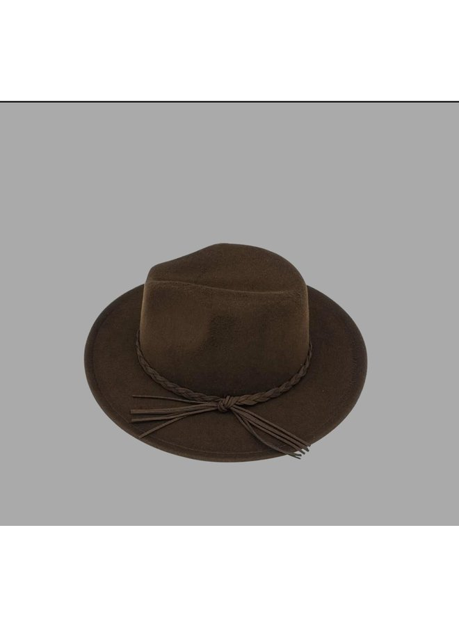 Harper Hat Brown