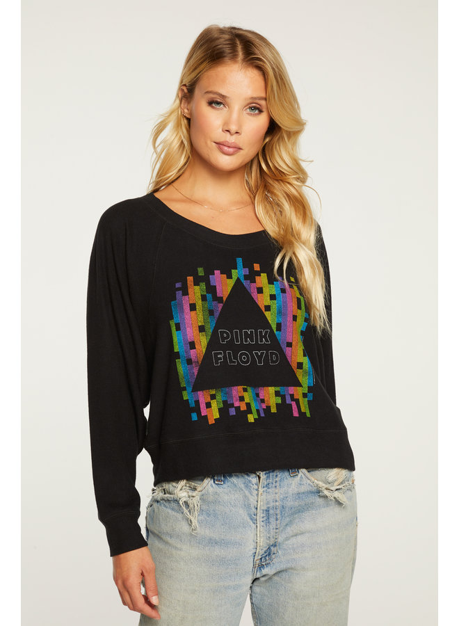 Batwing Pullover Rainbow Triangle
