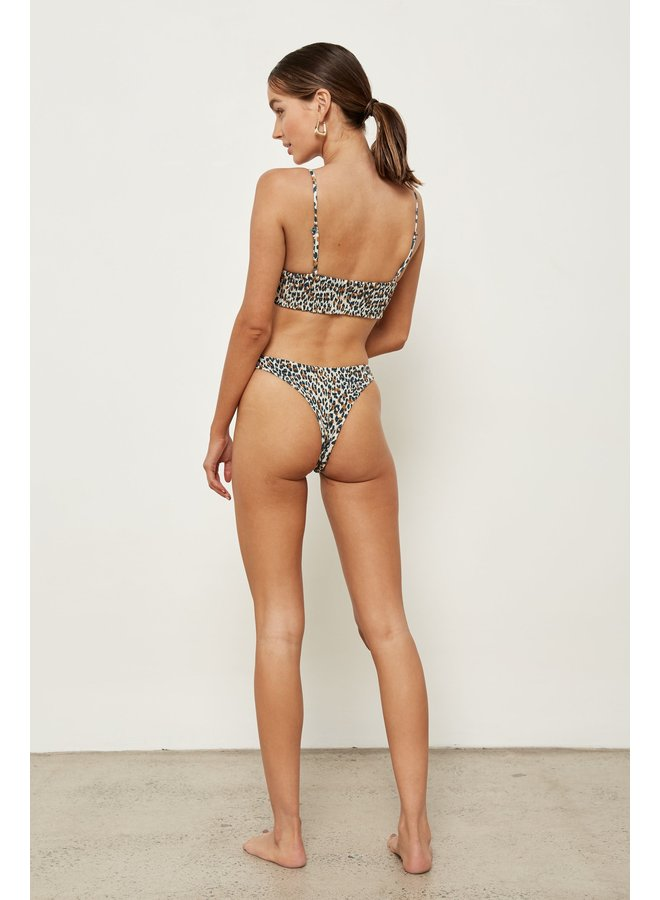 Alice Top /Bottom French Leopard