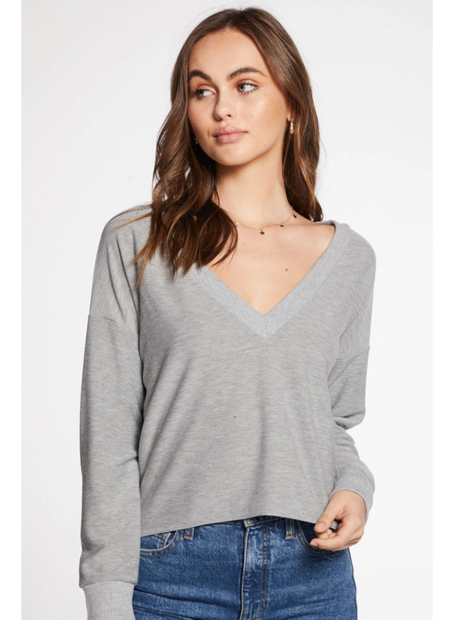 Cozy Knit Cropped Long Sleeve