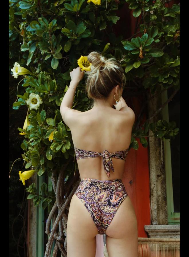 Paula Tie Up Bikini Bottom