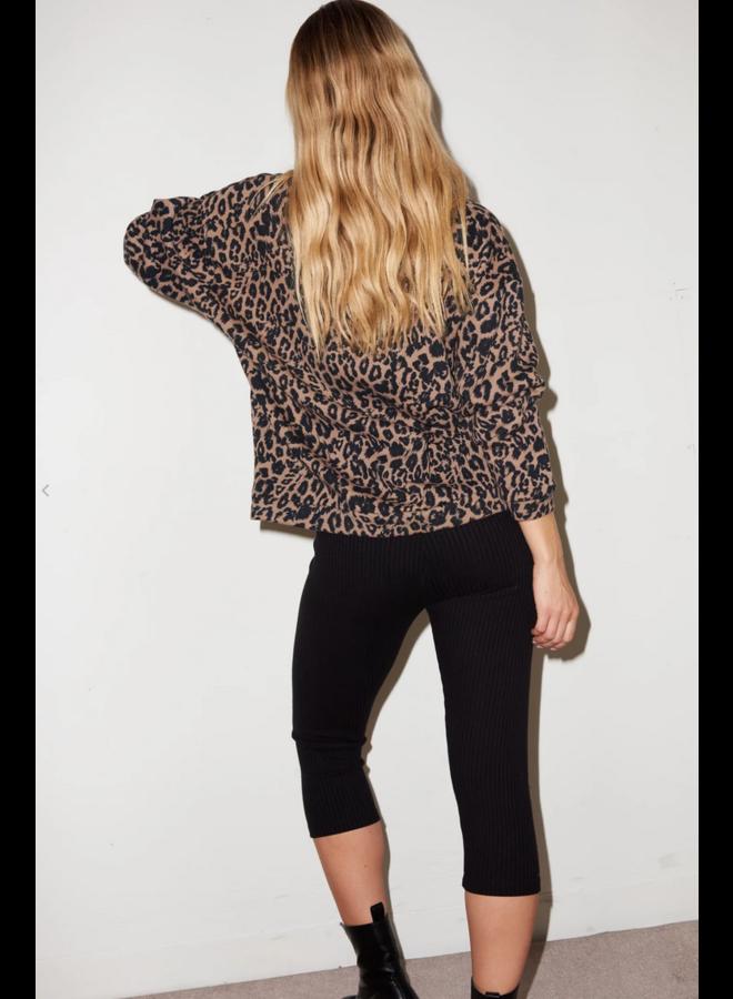 Terry Crew Sweatshirt Leopard