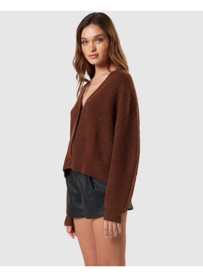 Henry Cardigan Walnut