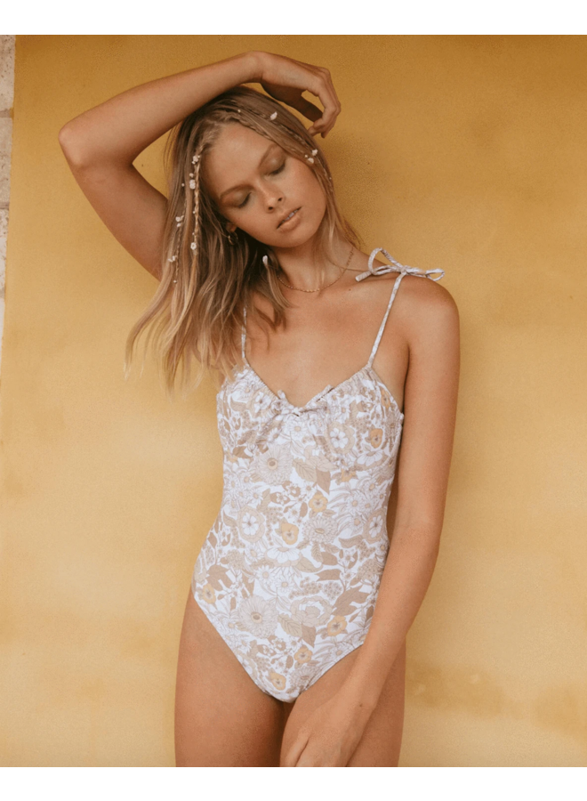 Florence One Piece Floral Forest