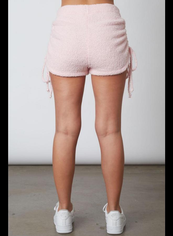 Drawstring Sweater Short Petal