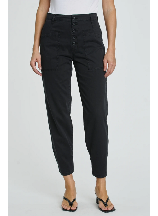Tammy High Rise Trouser Fade To Black