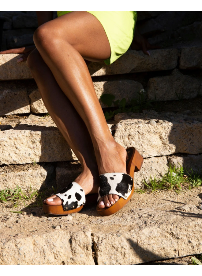 Good Spirits Cow Print Sandal