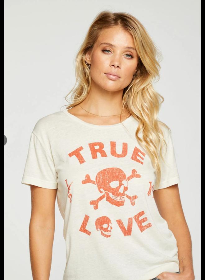 Crew Neck Tee True Love