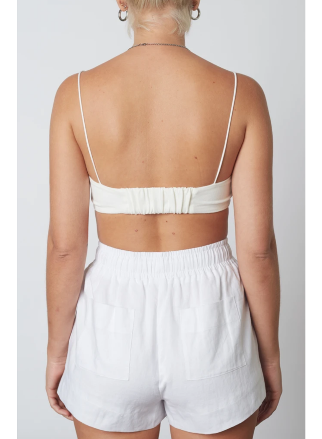 Barely There Bralette White