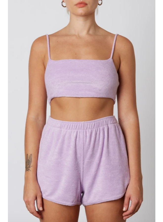 Terry Bralette Lilac