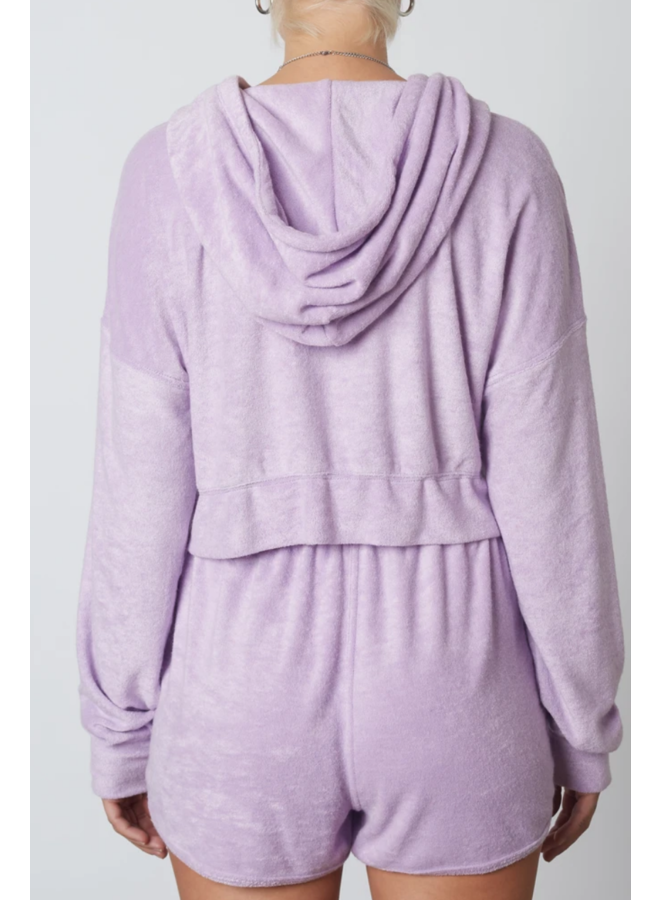 Terry Hoodie Lilac