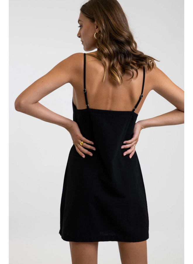 Classic Mini Dress Black