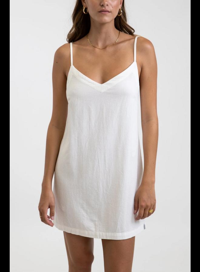 Classic Mini Dress White
