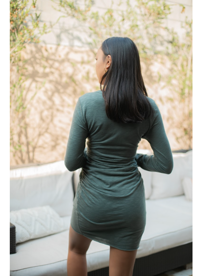 Riley Dress Olive