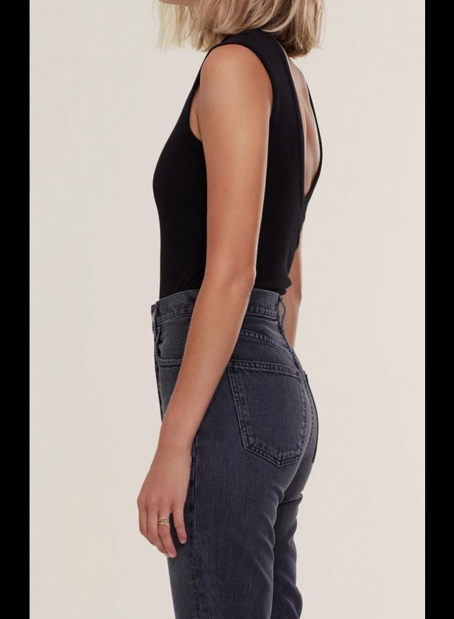 Sutton V Back Bodysuit Black
