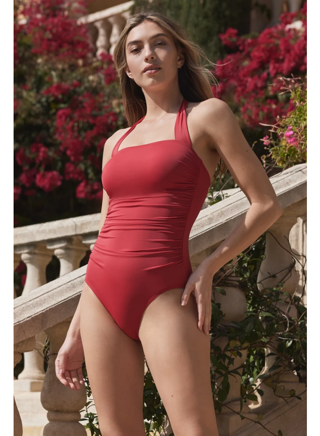 Marilyn One Piece Red