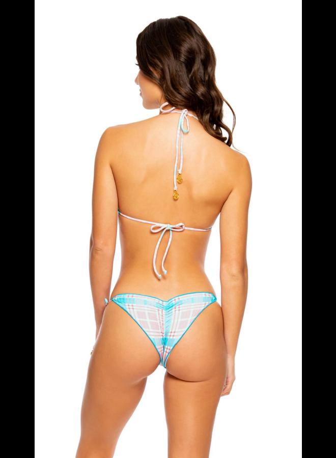 Vacay Wavy Tie Side Bottom Multicolor